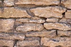 Acient brick wall. Grunge brick wall background. Background of old vintage brick wall. High quality photo