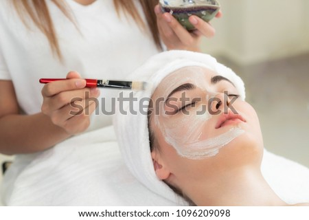 Acne treatment by dermatologist.