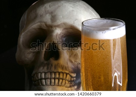 acohol, alco, alcoholic, alcoholism, beer, addict, addiction, unhealthy, health, skull, skeleton, death, medical, medicine, doping, horror, danger, bad, hell, dead, fear, drug addition,  #1420660379