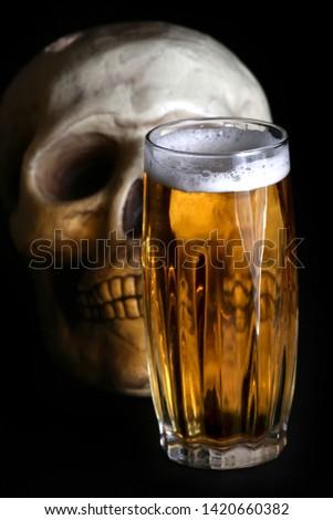 acohol, alco, alcoholic, alcoholism, beer, addict, addiction, unhealthy, health, skull, skeleton, death, medical, medicine, doping, horror, danger, bad, hell, dead, fear, drug addition,  #1420660382