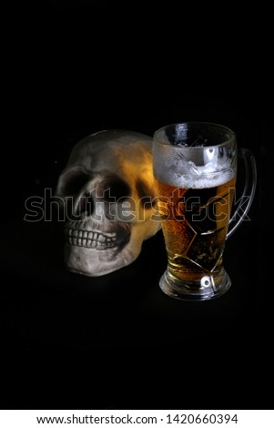 acohol, alco, alcoholic, alcoholism, beer, addict, addiction, unhealthy, health, skull, skeleton, death, medical, medicine, doping, horror, danger, bad, hell, dead, fear, drug addition,  #1420660394