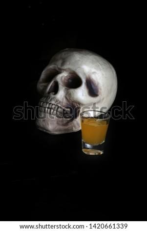 acohol, alco, alcoholic, alcoholism, shot, coctail, addict, addiction, unhealthy, health, skull, skeleton, death, medical, medicine, doping, horror, danger, bad, hell, dead, fear, drug addition,  #1420661339