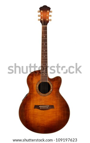 acoustic guitar #109197623