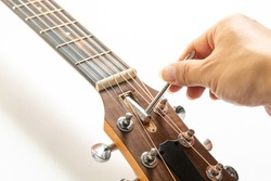 Acoustic guitar care and truss rod adjustment and repair