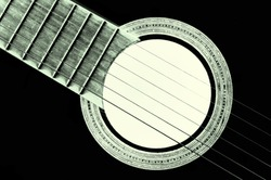 acoustic guitar - resonant