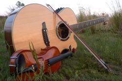 Acoustic Guitar Violin