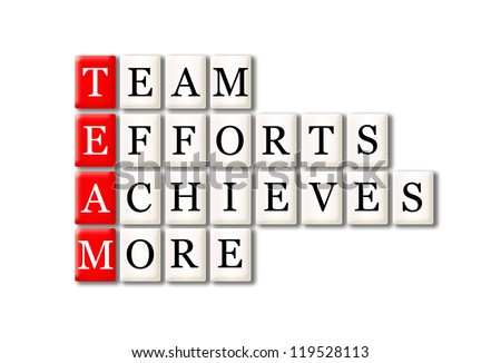 Acronym of Team - Team, Efforts, Achieves, More