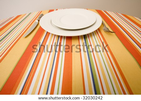across the table -dining set
