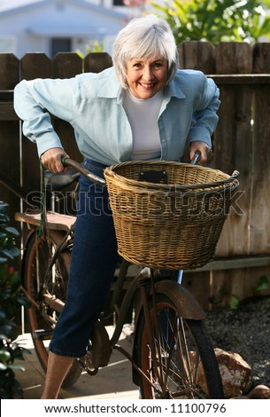 Active Senior - stock photo