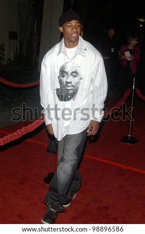 Actor ARLEN ESCARPETA at the world premiere, in Hollywood, of The Perfect Score. January 27, 2004