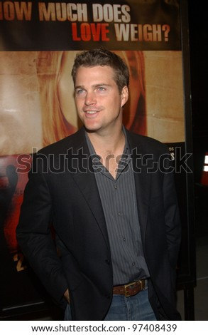 Actor CHRIS O'DONNELL at the Los Angeles premiere of 21 Grams. November 6, 2003  Paul Smith / Featureflash