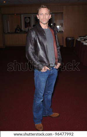 Actor DANIEL CRAIG (the new James Bond) at an industry screening for his new movie Munich. December 20, 2005.  Beverly Hills, CA  2005 Paul Smith / Featureflash