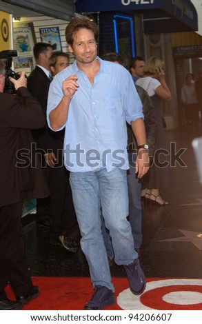 Actor DAVID DUCHOVNY at the premiere of The Good Girl, the closing night movie of the 2002 IFP/West-Los Angeles Film Festival. 29JUN2002.   Paul Smith / Featureflash