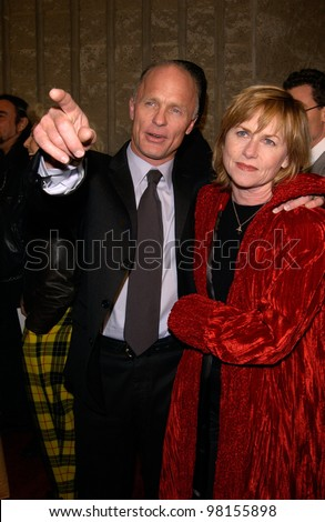 actor ed harris amp wife amy madigan at the world premiere