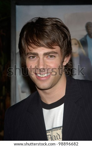 Actor JONATHAN BENNETT at the world premiere, in Hollywood, of The Perfect Score. January 27, 2004