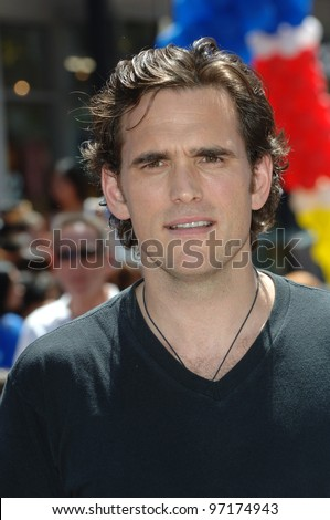 Actor MATT DILLON at the the world premiere, on Hollywood Boulevard, of his new movie Walt Disney Pictures' Herbie: Fully Loaded. June 19, 2005 Los Angeles, CA  2005 Paul Smith / Featureflash