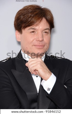 Actor MIKE MYERS at the 34th AFI Life Achievement Award Gala in Hollywood. June 8, 2006  Los Angeles, CA  2006 Paul Smith / Featureflash