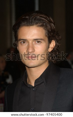Actor ORLANDO BLOOM at the 2003 Hollywood Awards at the Beverly Hills Hilton. Oct 20, 2003  Paul Smith / Featureflash