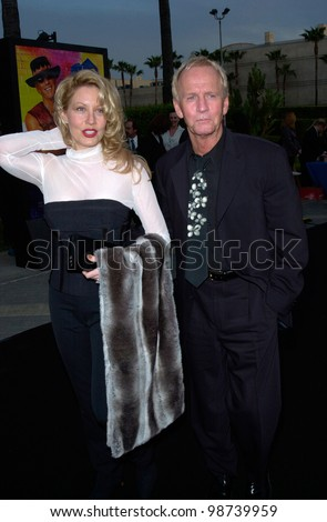 Actor Paul Hogan Actress Wife Linda Kozlowski At The Us Premiere In