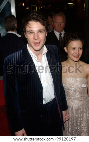 Rupert Evans with beautiful, Girlfriend Lyndsey Marshall