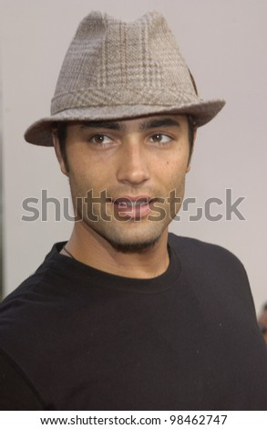 Actor VICTOR WEBSTER at the world premiere of 2 Fast 2 Furious at the Universal Amphitheatre, Hollywood. June 3, 2003