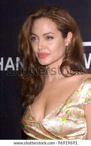 Actress ANGELINA JOLIE at the Premiere magazine 11th Annual Women in Hollywood Luncheon at the Four Seasons Hotel, Beverly Hills. September 14, 2004