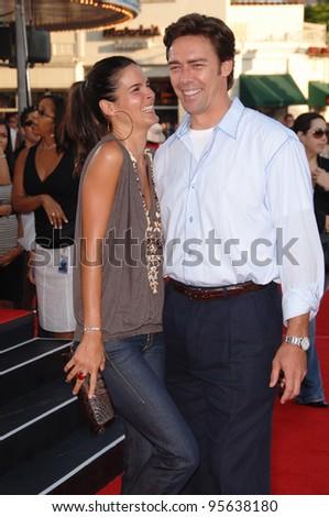 Angie Harmon and husband