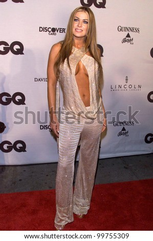 Actress CARMEN ELECTRA at GQ Magazine's 5th Annual Men of the Year Awards in New York. 26OCT2000.   Paul Smith / Featureflash
