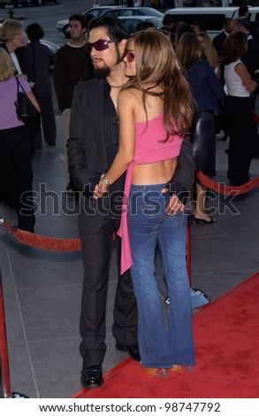 Actress Carmen Electra & Boyfriend Dave Navarro At The Los ...