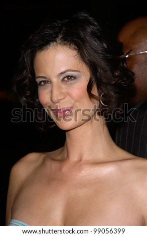 Actress Catherine Bell At The World Premiere, In Hollywood, Of ...