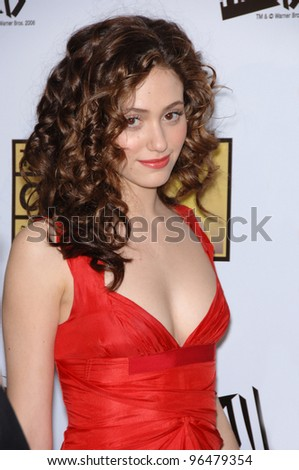 Actress EMMY ROSSUM at the 11th Annual Critics' Choice Awards in Santa Monica, presented by the Broadcast Film Critics Association. January 9, 2006  Santa Monica, CA  2006 Paul Smith / Featureflash
