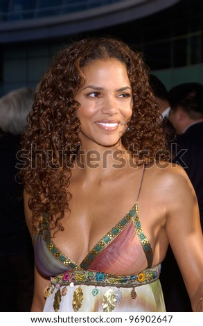 Actress Halle Berry At The World Premiere In Hollywood Of Her New