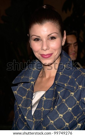 Actress HEATHER PAIGE KENT at the Los Angeles premiere, in Hollywood, of Requiem For A Dream. 16OCT2000.   Paul Smith / Featureflash