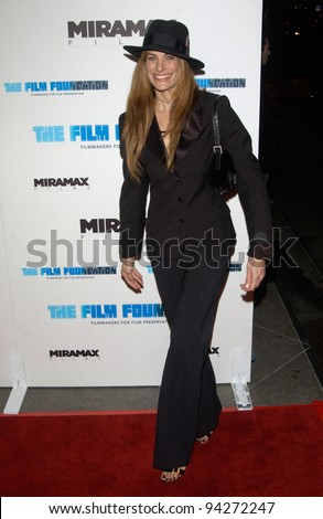 Actress HILARY SHEPARD at the Los Angeles premiere of Gangs of New York. 17DEC2002.    Paul Smith/Featureflash