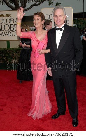 Actress Jamie Lee Curtis Husband Christopher Guest At