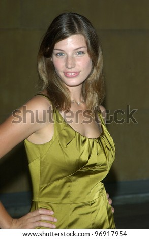 Actress JESSICA PARE at the world premiere, in Hollywood, of Wicker Park. August 31, 2004