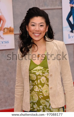 Actress JOCELYN LAI at the Hollywood premiere of her new movie Walt Disney Pictures' Ice Princess, at the El Capitan Theatre. March 13, 2005: Los Angeles, CA.  2005 Paul Smith / Featureflash