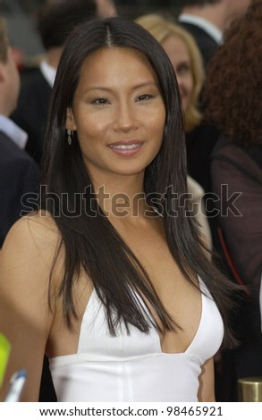 Actress LUCY LIU at the Hollywood premiere of her new movie Charlie's Angels: Full Throttle. June 18, 2003  Paul Smith / Featureflash