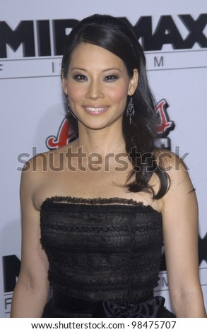 Actress LUCY LIU at the Los Angeles premiere of her new movie Kill Bill. Sept 29, 2003  Paul Smith / Featureflash