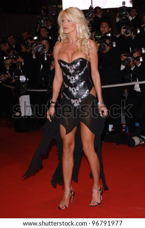 Actress/model VICTORIA SILVSTEDT at the gala screening of Sin City at the 58th Annual Film Festival de Cannes. May 18, 2005 Cannes, France.  2005 Paul Smith / Featureflash
