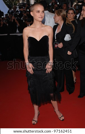 Actress NATALIE PORTMAN at the gala premiere of her movie Star Wars - Revenge of the Sith - at the 58th Annual Film Festival de Cannes. May 15, 2005 Cannes, France.  2005 Paul Smith / Featureflash