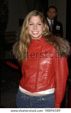Actress SHOSHANNAH STERN at the world premiere, in Hollywood, of The Perfect Score. January 27, 2004