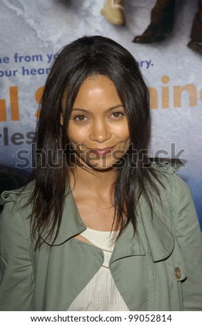 Actress THANDIE NEWTON at the world premiere of Eternal Sunshine of the Spotless Mind, in Beverly Hills, CA. March 9, 2004