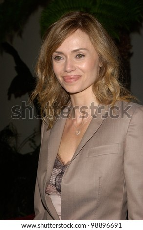 Actress VANESSA ANGEL at the world premiere, in Hollywood, of her new movie The Perfect Score. January 27, 2004