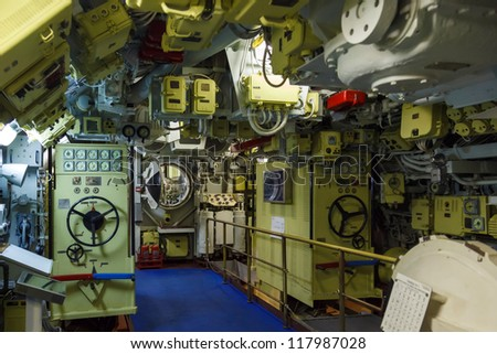 actual management of the devices in diesel submarine battery compartment