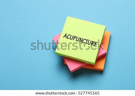 Acupuncture, Health Concept
