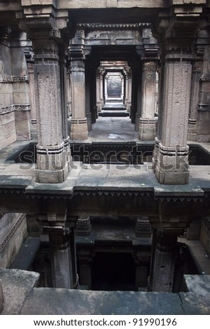 Adalaj Step well in Ahmedabad, India