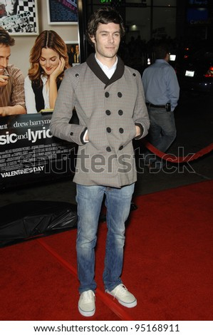 "ADAM BRODY at the Los Angeles premiere of ""Music and Lyrics"" at the Grauman's Chinese Theatre, Hollywood. February 7, 2007  Los Angeles, CA Picture: Paul Smith / Featureflash"