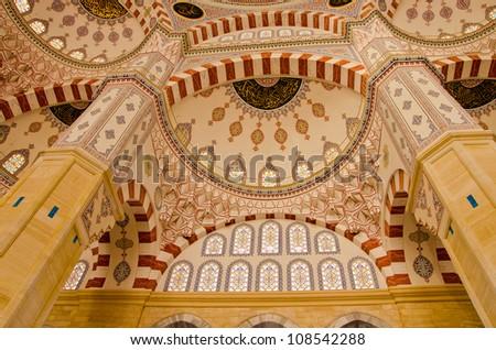 Adana, turkey - Sabanci Merkez Camii (mosque)