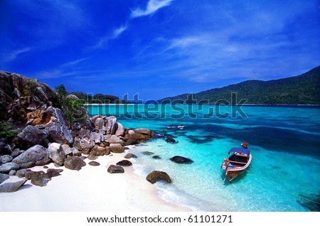 Stock Photo Adang_Rawi Island, Tarutao National Park, Satul Province, South of Thailand